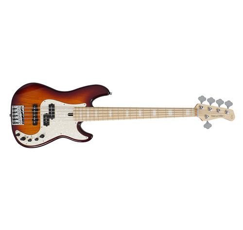 SIRE MARCUS MILLER P7 BASS GUITAR 5ST (ASH) TOBACCO SUNBURST COLOR