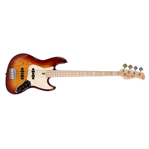 SIRE MARCUS MILLER V7 BASS GUITAR 4ST (ASH) TOBACCO SUNBURST COLOR